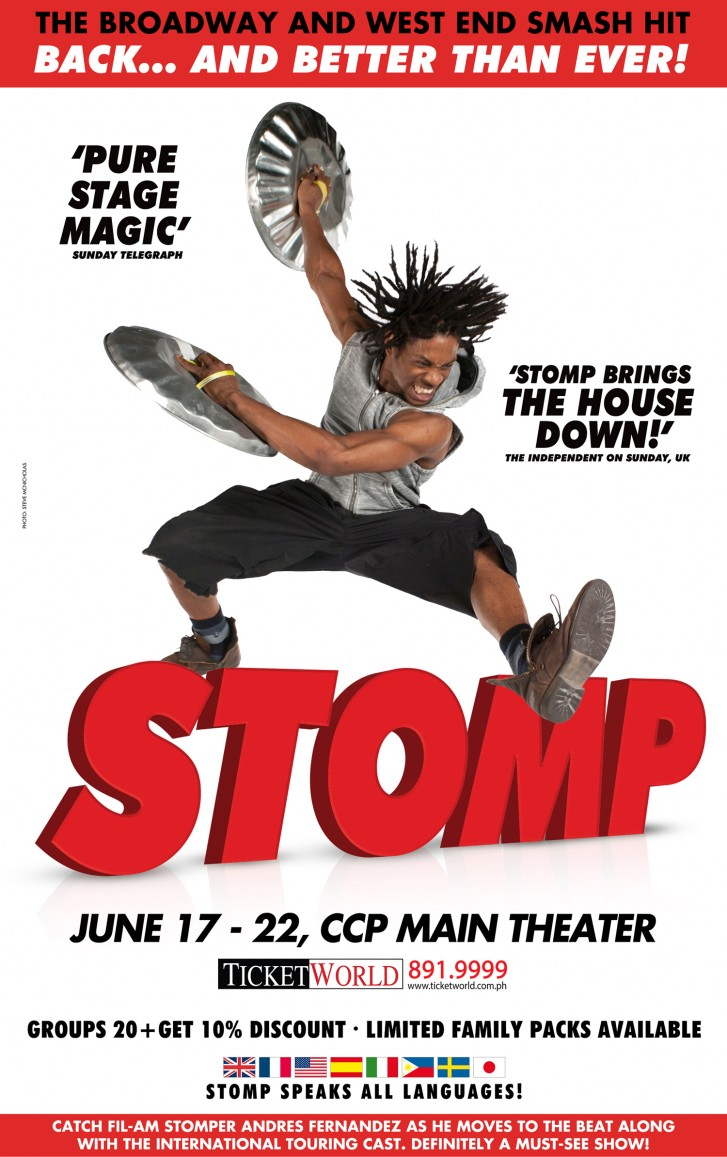 Discount coupons for stomp